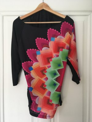 Desigual Oversized blouse veelkleurig