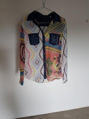 Desigual Camicia blusa multicolore