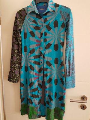 DESIGUAL Blusenkleid Kleid Gr. S