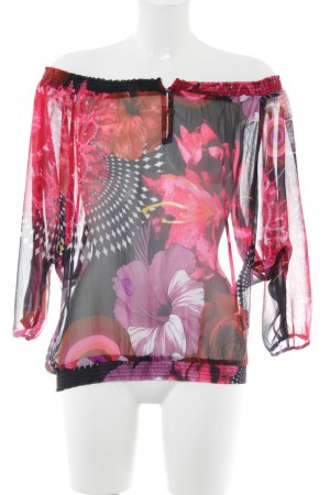 Desigual Carmen Blouse abstract pattern casual look