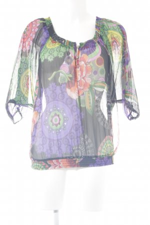 Desigual Carmen-Bluse florales Muster extravaganter Stil