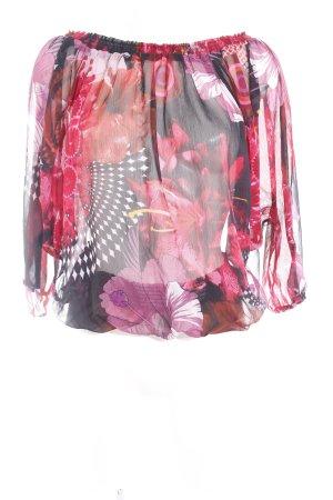 Desigual Carmen-Bluse florales Muster klassischer Stil