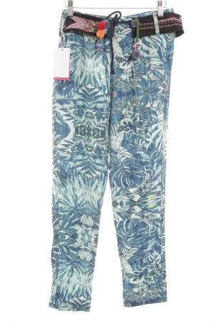 Desigual Chinos floral pattern casual look