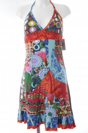 Desigual Cocktailkleid abstraktes Muster Beach-Look