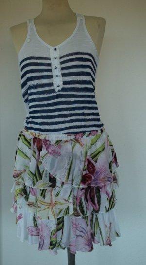 Desigual - Cooles Sommer Kleid aus Naturfaser Gr. 40 - neu