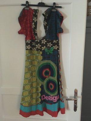 Robe Desigual Desigual Bretelles Robe À À Multicolore 0k8OnwP