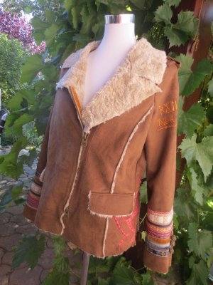 Desigual Damen Ethno Boho Nature Indian Hippie jacket Size 40