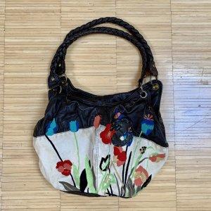 Desigual Damen Tasche mit Blumen Motiven