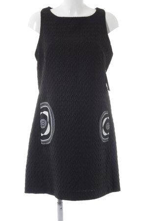 Desigual Etuikleid schwarz-wollweiß Elegant