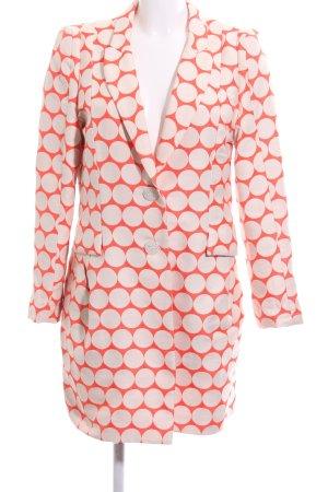 Desigual Frock Coat light orange-white spot pattern business style