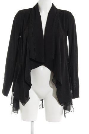 Desigual Geklede jas zwart abstract patroon extravagante stijl