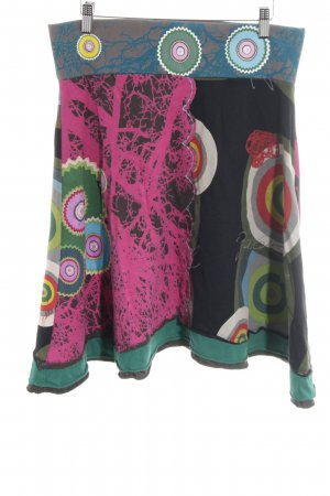 Desigual Klokrok abstract patroon casual uitstraling