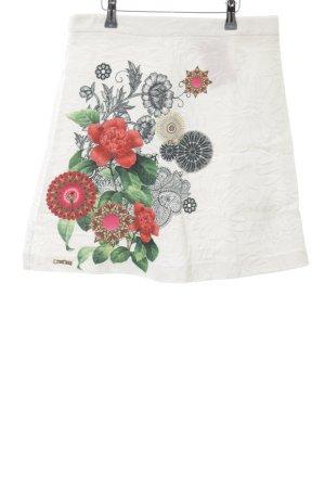 Desigual Falda acampanada estampado floral look casual