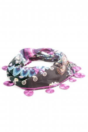 Desigual Halsdoek abstract patroon casual uitstraling