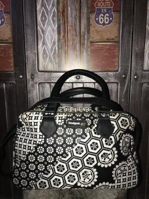 Desigual Handbag black-white