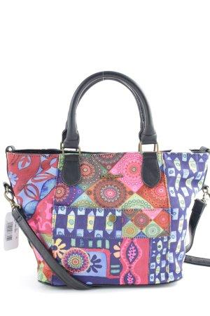Desigual Handtasche abstraktes Muster extravaganter Stil