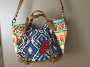 Desigual Carry Bag multicolored cotton