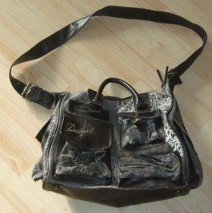 Desigual Handtasche Schultertasche braun