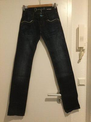 Desigual Happy Jeans, dunkelblau, Größe 34