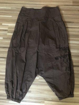 Desigual Pantalón estilo Harem coñac-marrón
