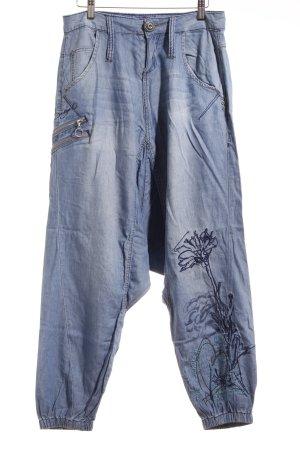 Desigual Harem Pants light blue Boho look