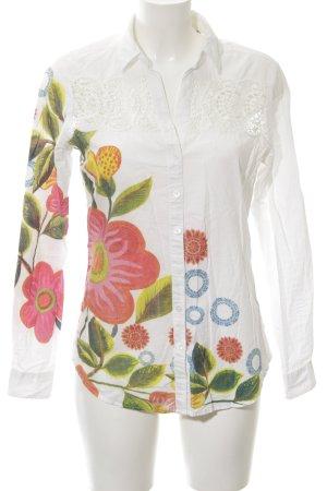 Desigual Hemd-Bluse florales Muster Casual-Look