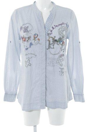 Desigual Hemd-Bluse grafisches Muster extravaganter Stil