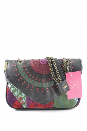 Desigual Carry Bag mixed pattern extravagant style