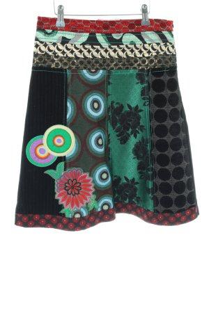 Desigual Jupe taille haute motif abstrait style d'affaires