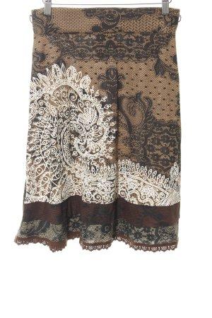 Desigual High Waist Skirt abstract pattern extravagant style