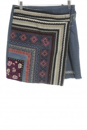 Desigual High Waist Rock Aztekenmuster Gypsy-Look