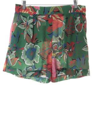 Desigual Short taille haute motif floral style safari
