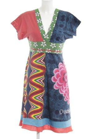 Desigual Vestido Hippie estampado con diseño abstracto estilo hippie
