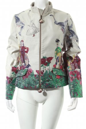 Desigual Jacke abstraktes Muster extravaganter Stil