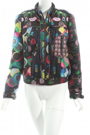 Desigual Jacke florales Muster extravaganter Stil