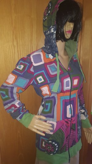 Desigual Shirt Jacket multicolored cotton