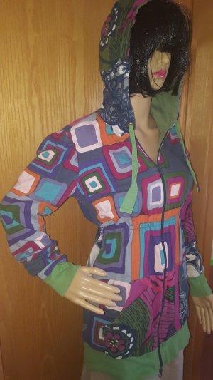 Desigual Chaqueta estilo camisa multicolor Algodón