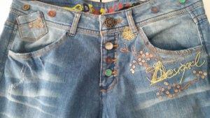 Desigual Stretch Jeans multicolored