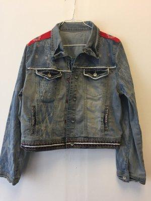 Desigual Jeans Jacke Größe XL