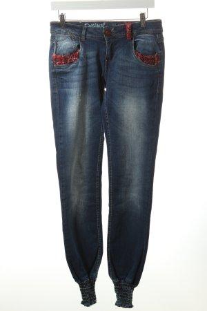 Desigual Jeans mehrfarbig Washed-Optik