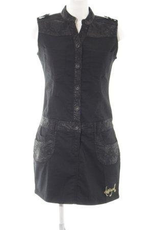 Desigual Jeanskleid schwarz Casual-Look