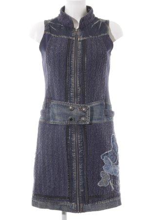 Desigual Jeanskleid dunkelblau-stahlblau Casual-Look