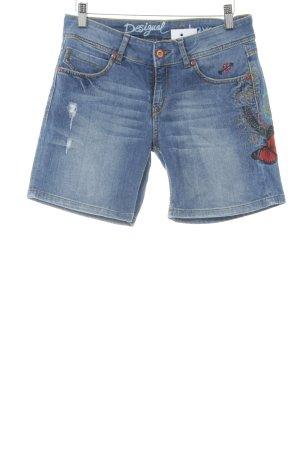 Desigual Denim Shorts multicolored casual look