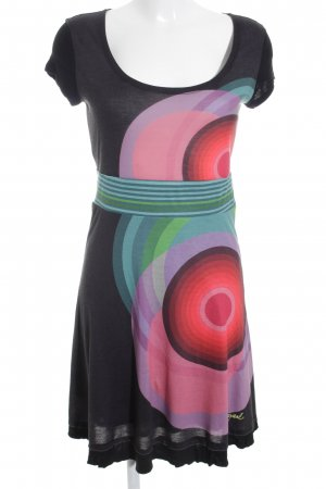 Desigual Jerseykleid abstrakter Druck Casual-Look