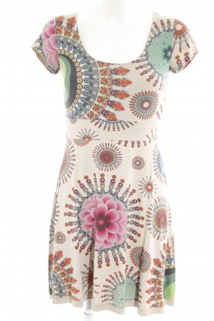 Desigual Jersey Dress abstract print hippie style