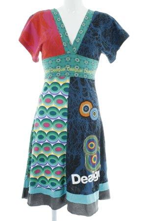 Desigual Jerseyjurk abstract patroon extravagante stijl