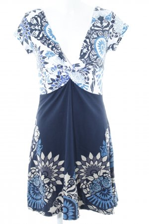 Desigual Jersey Dress allover print casual look
