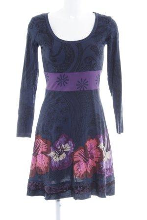 Desigual Jerseykleid Blumenmuster Gypsy-Look