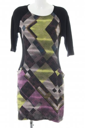 Desigual Jersey Dress abstract pattern casual look