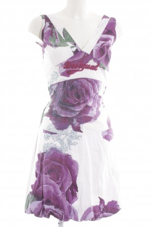 Desigual Jerseykleid florales Muster Casual-Look